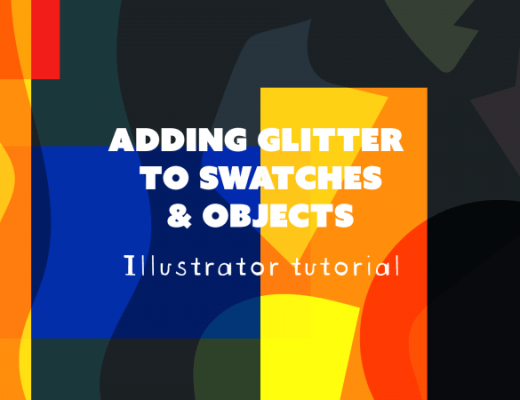 Saving glitter to swatches