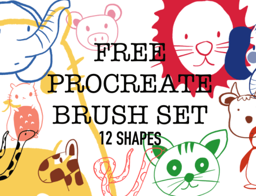 free procreate brush set