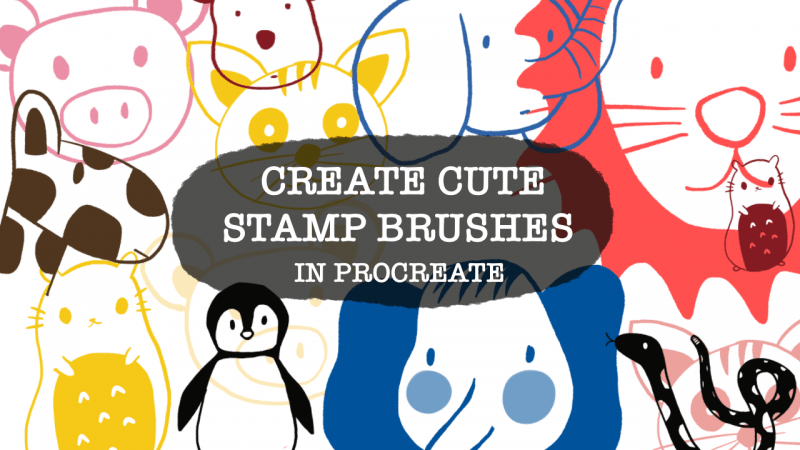 stamp brush procreate