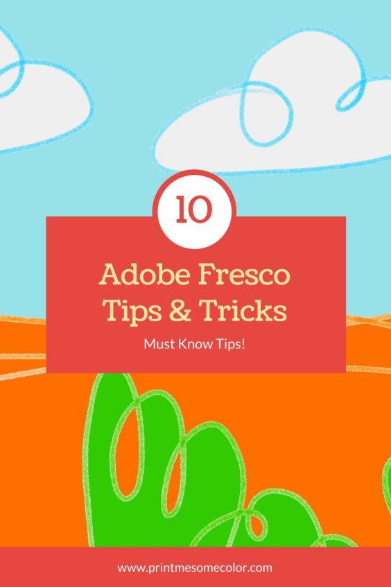 Adobe Fresco Tips 2020