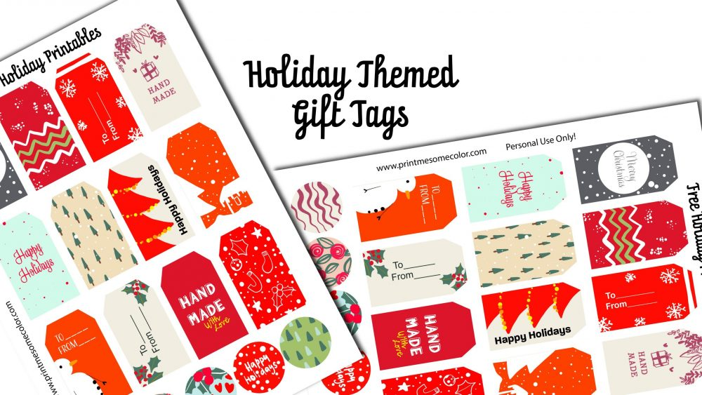Free download holiday gift cards