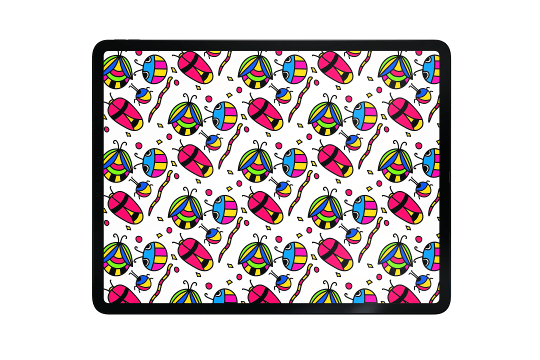 repeating pattern with Adobe Fresco