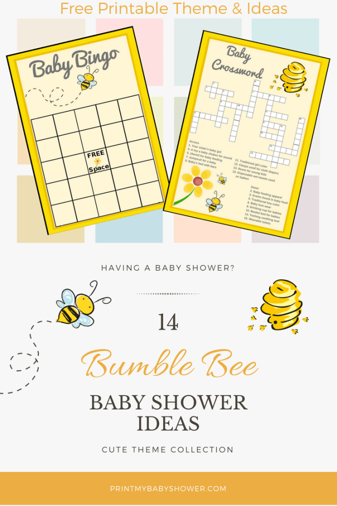 Ble Bee Baby Shower Ideas
