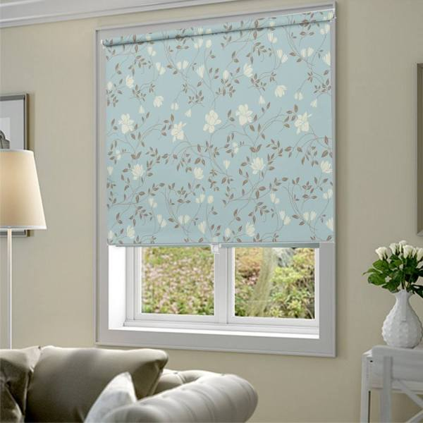 Abstract Floral Window Blinds