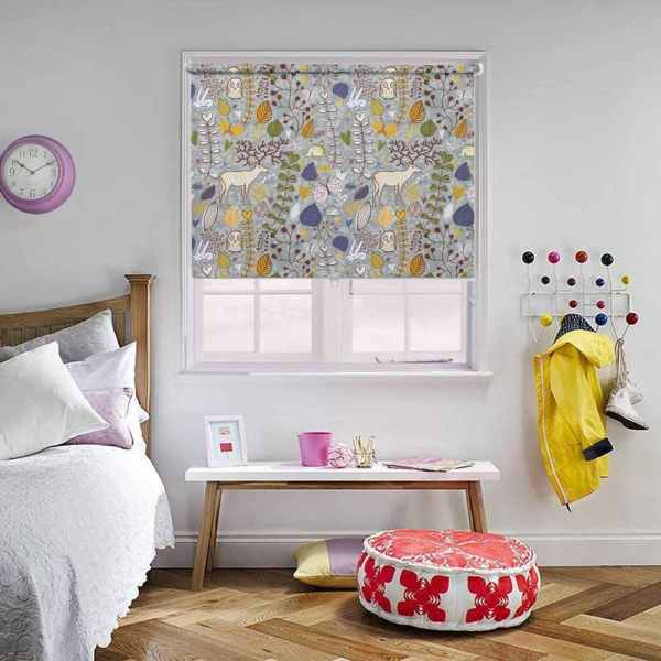 Colourful Kids Animal Blinds