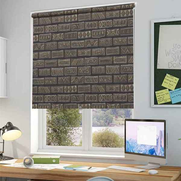 Vintage Brick Blinds