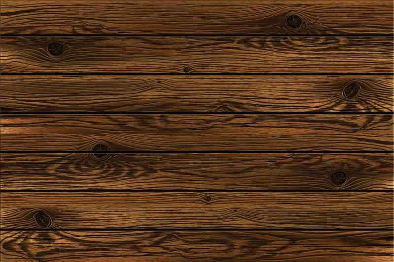 Wood Pattern Blinds