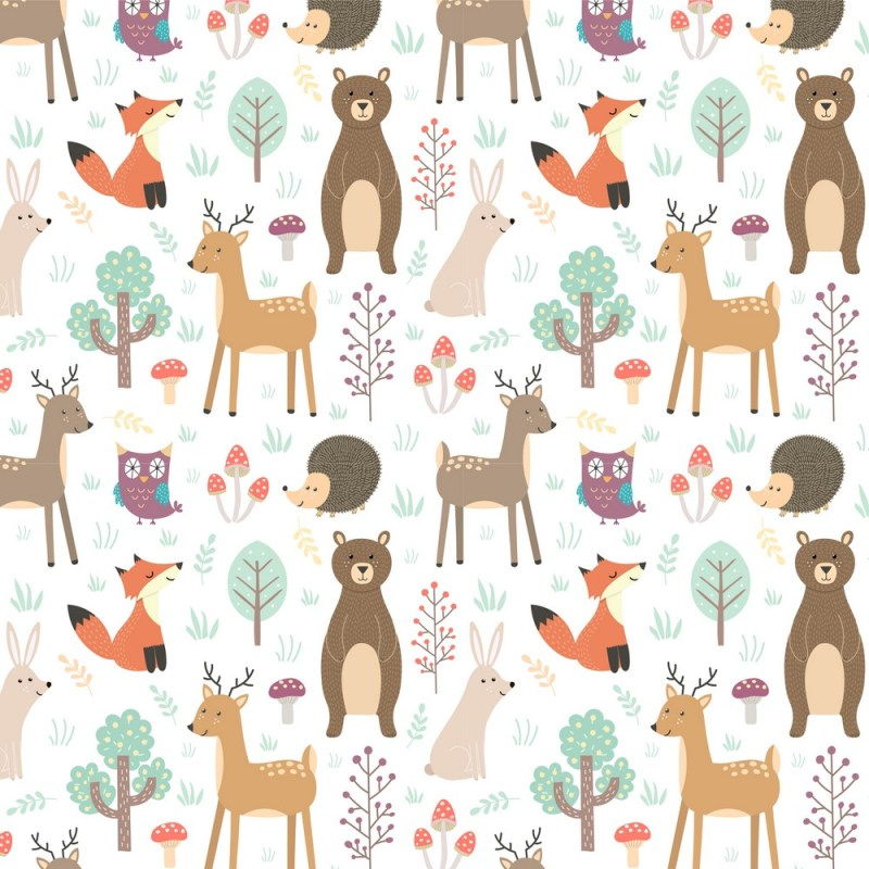 Animated Forest Kids Wallpaper 3