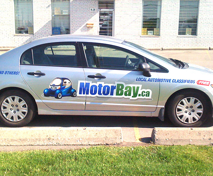 Vehicle graphics car vinyl wrap