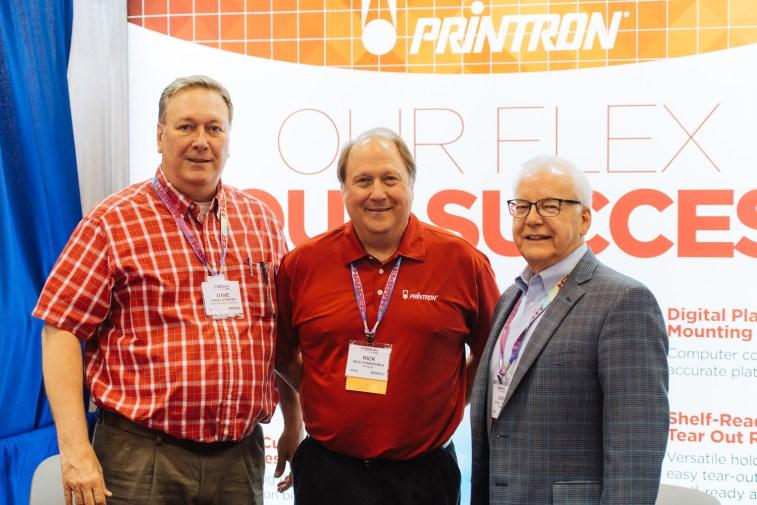 Dave Straten, Rick Pomerenka, and Jack Fulton