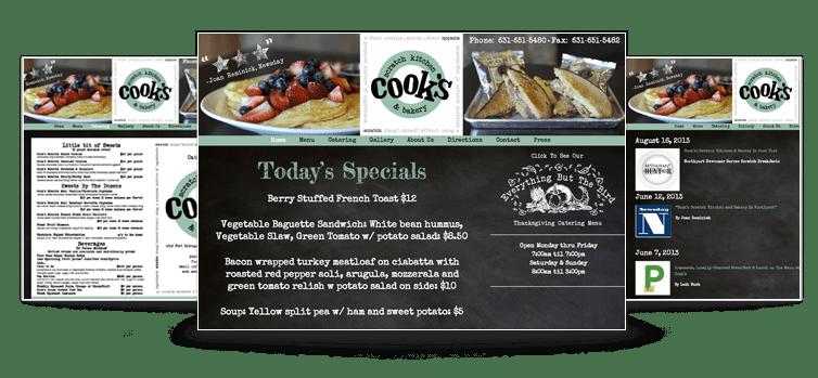 Cook's Scratch Kitchen & Bakery Website