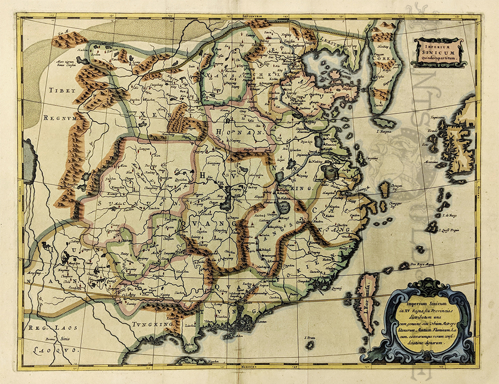 Old Maps Himalayas