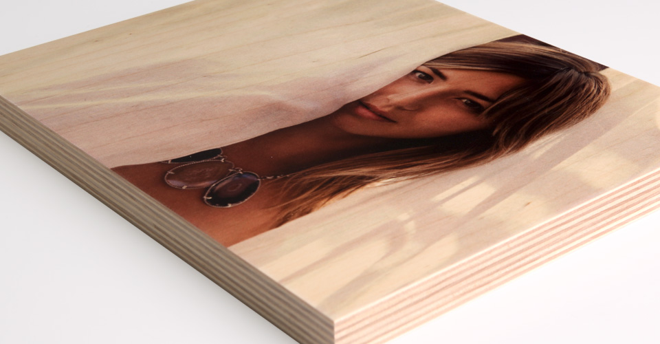 Matte Frame Picture Wooden Personalized