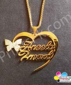 Aneela Imad Name Locket