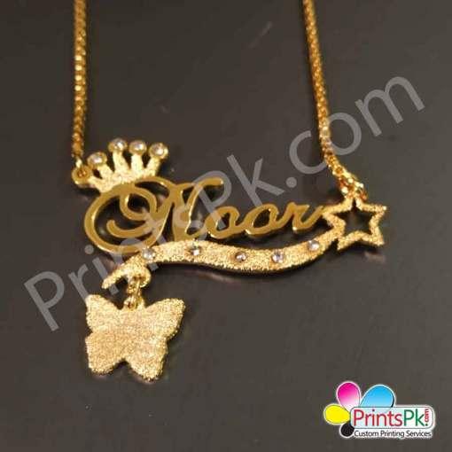 Noor Name Chain Locket