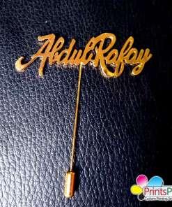 Abdul-rafy-Name-Lapel-Pin
