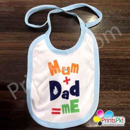 Custom Photo printed Baby Bib