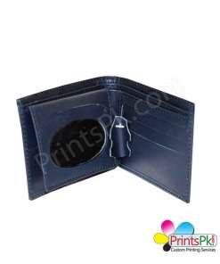 Blue Wallet Inner pockets