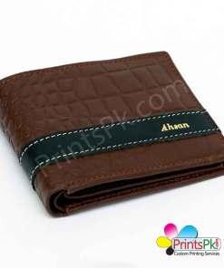 Brown Crocodile Wallet