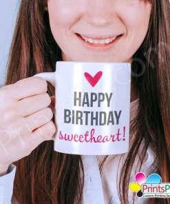 Happy Birthday Sweetheart Mug
