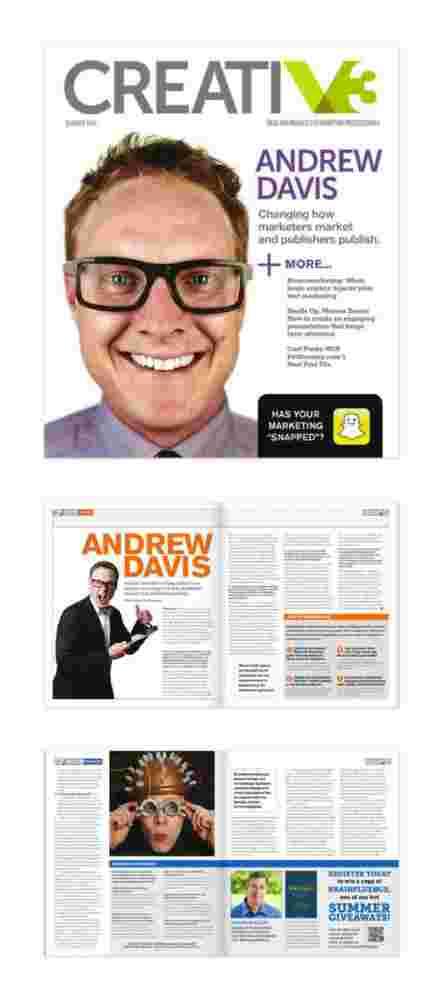 CreatiV3 Magazine from V3 Printing