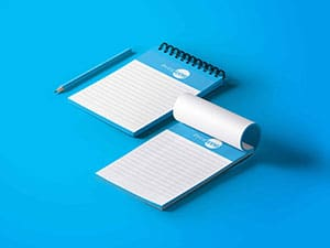 Half Page Notepads | PrintWow