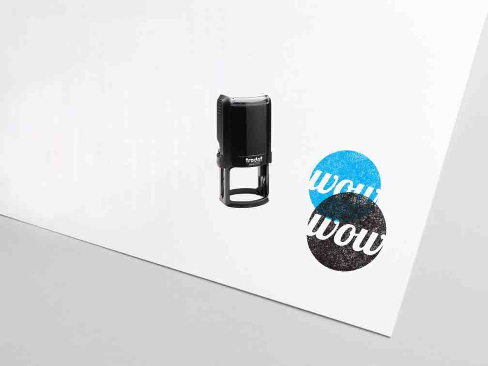 Custom Self-Inking Stamps by Print Wow