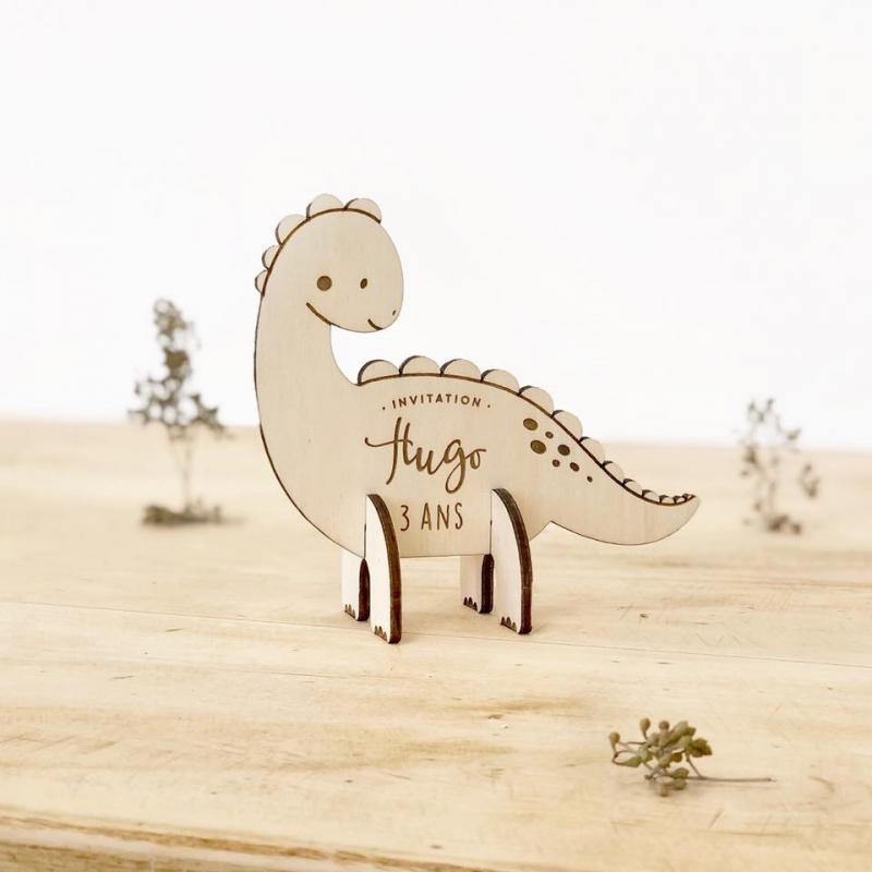 anniversaire dinosaure invitation