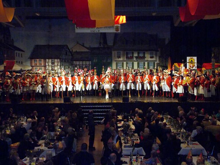 Auftritt Prinzenproklamation Euskirchen 2014