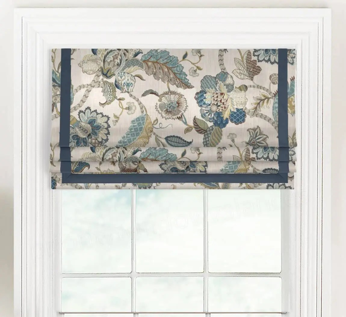 Finders Keepers Faux Roman Shade Valance