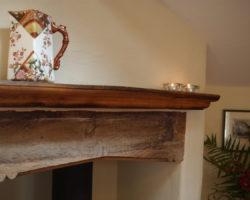 Cottage mantlepiece