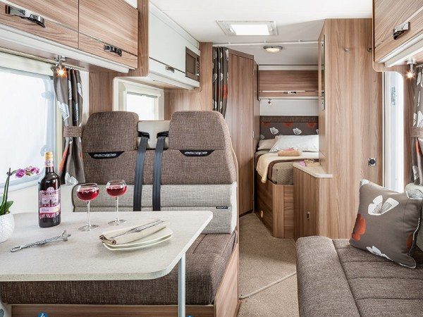 Swift Escape 664 - Luxury motorhome from Priory Rentals