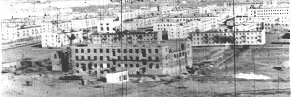 Строительство города и полигона