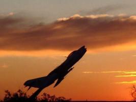 Фотографии памятника авиаторам Приозёрского гарнизона