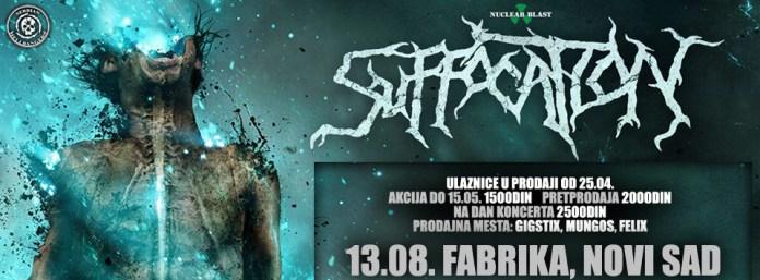 SUFFOCATION - Fabrika, Novi Sad - 13.08.2017.fb
