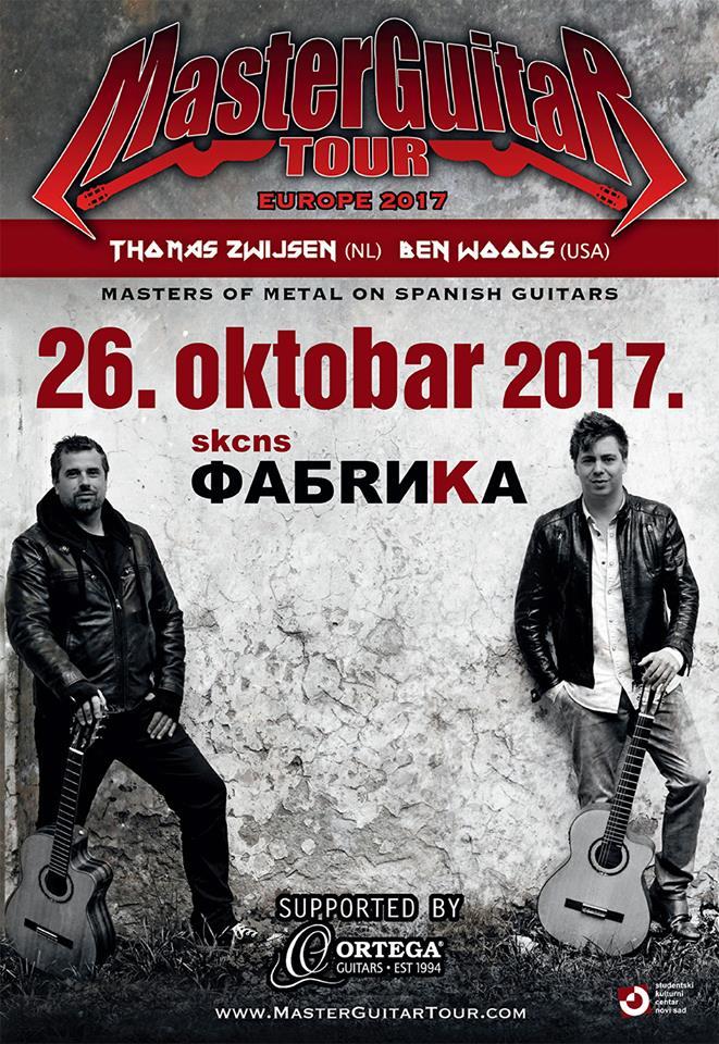 MASTER GUITAR tour - SKCNS Fabrika
