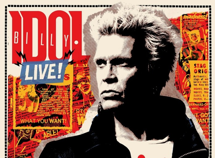 Billy Idol Zajecar 2018 new