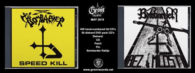Grom Records - Bombarder re-izdanja 2019