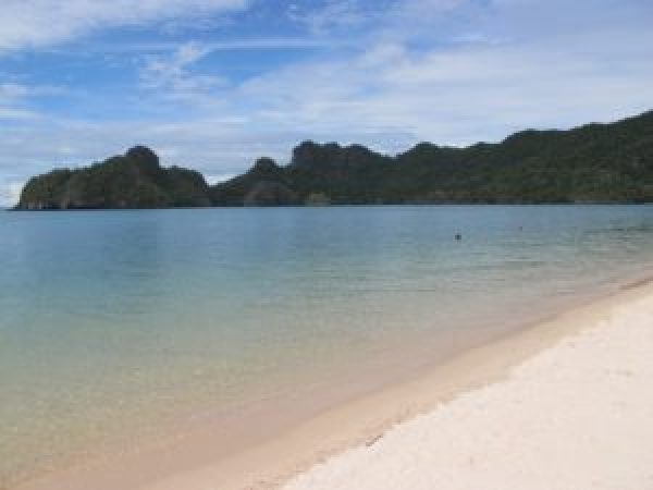 Playa de Tanjung Rhu