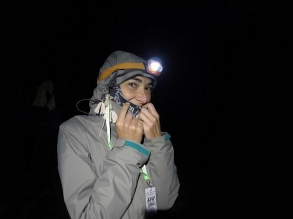 Monte Kinabalu de noche
