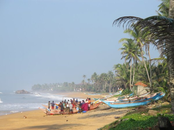 playa de Boosa Sri Lanka