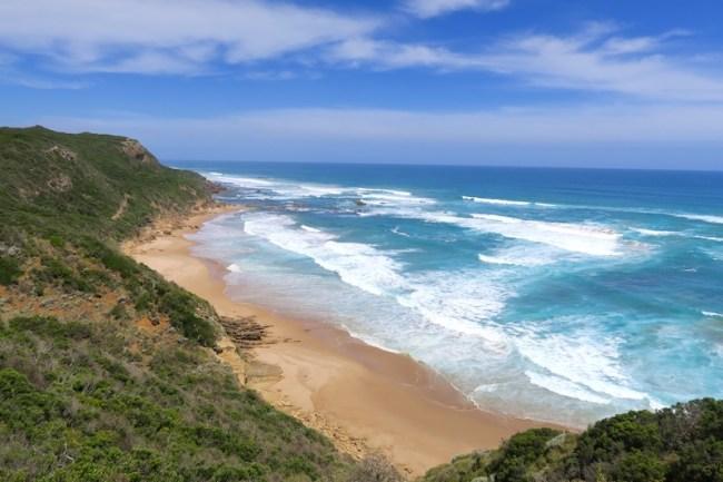 great ocean road, playa