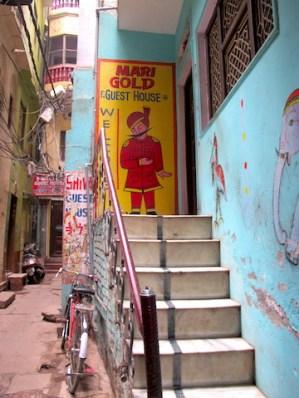 Entrada a Marigold, Varanasi