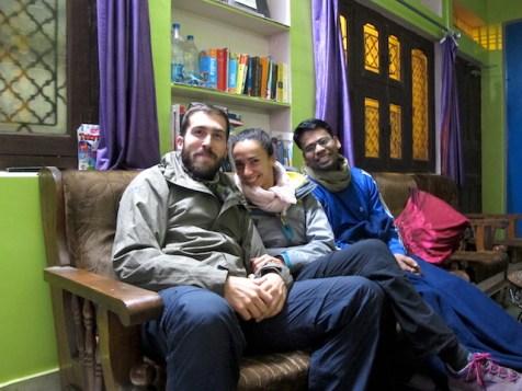 Sonu en Marigold, Varanasi