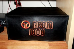 DX Covers radio dust cover for the Acom 1000