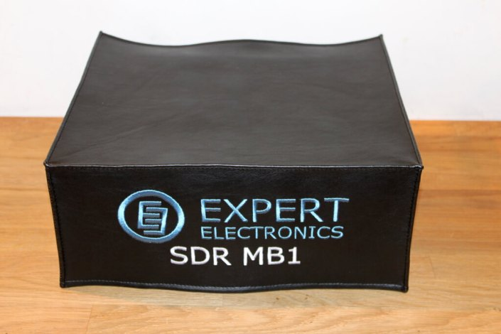 DX Covers radio dust cover for the Expert Electronics SDR MB1