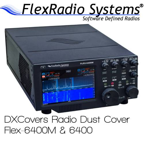 FlexRadio Systems 6400M & 6400 Prism Embroidery Radio Dust Covers shop logo