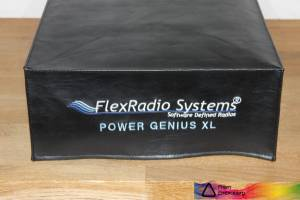 DX Covers radio dust cover for the FlexRadio Systems Power Genius XL