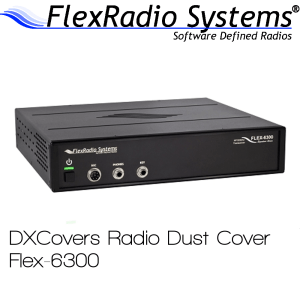 FlexRadio Systems 6300 Prism Embroidery Radio Dust Covers shop logo