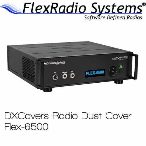FlexRadio Systems 6500 Prism Embroidery Radio Dust Covers shop logo
